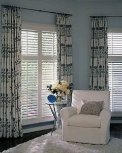 Parlor Buy Real Wood Shutters